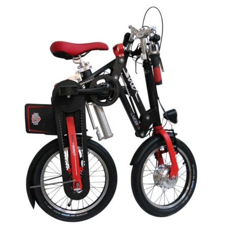 Solex by Mobiky, folded